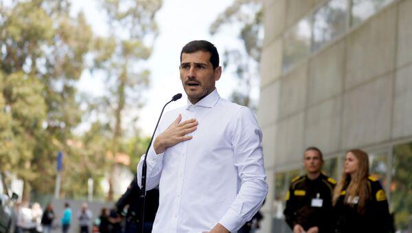 Iker Casillas, futbolista - Sputnik Mundo