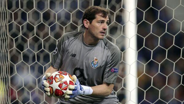 El portero madrileño Iker Casillas - Sputnik Mundo