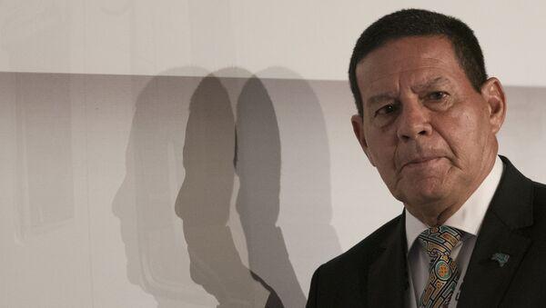 El vicepresidente brasileño, Antonio Hamilton Mourao - Sputnik Mundo
