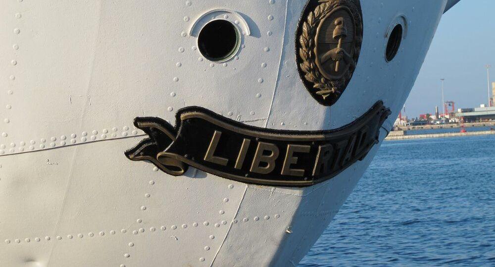 La fragata Libertad, el buque escuela de la Armada Argentina