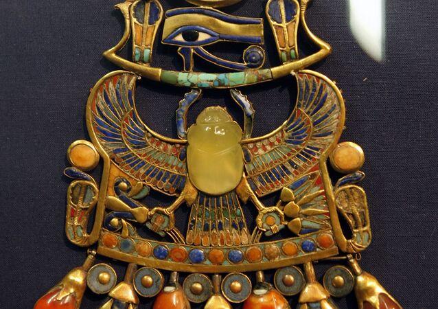 El escarabajo de Tutankamón