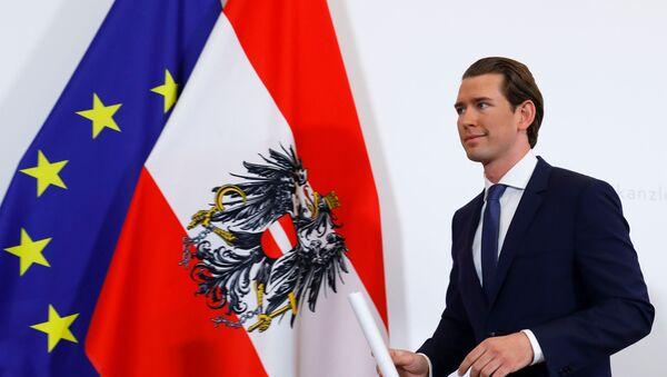 El canciller de Austria, Sebastian Kurz - Sputnik Mundo