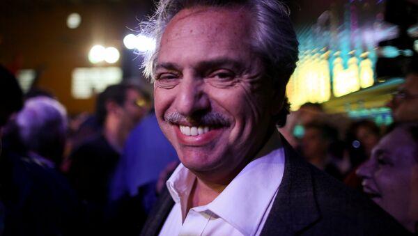 Alberto Fernández, candidato presidencial argentino - Sputnik Mundo