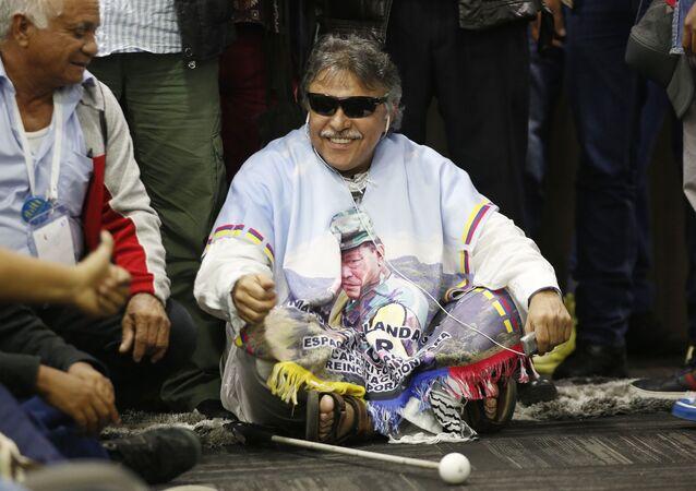 'Jesús Santrich', exlíder y guerrillero colombiano (archivo)
