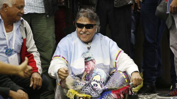 'Jesús Santrich', exlíder y guerrillero colombiano - Sputnik Mundo