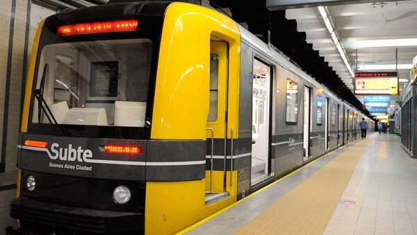 El metro en Buenos Aires, Argentina - Sputnik Mundo