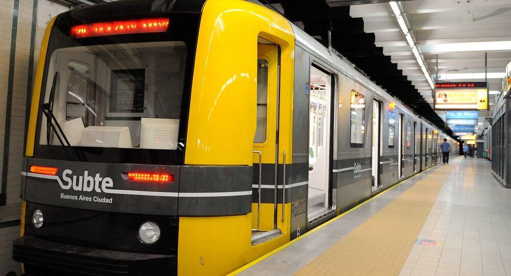 El metro en Buenos Aires, Argentina