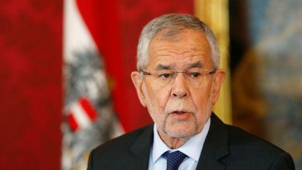 Alexander Van der Bellen, presidente de Austria - Sputnik Mundo