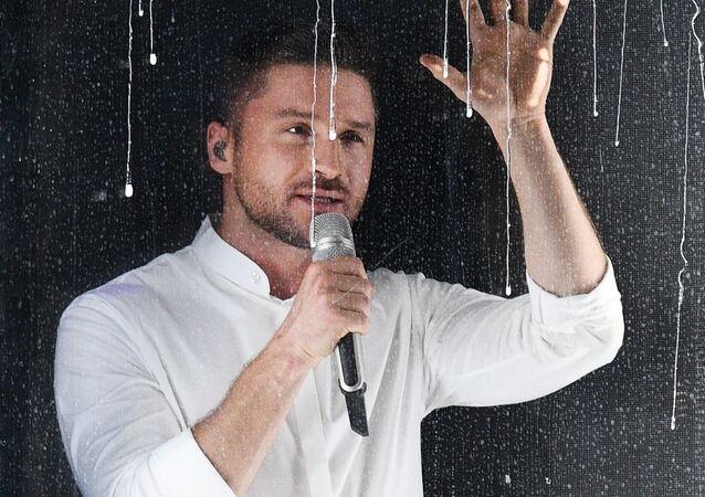 La actuación de Serguéi Lázarev en el concurso Eurovisión