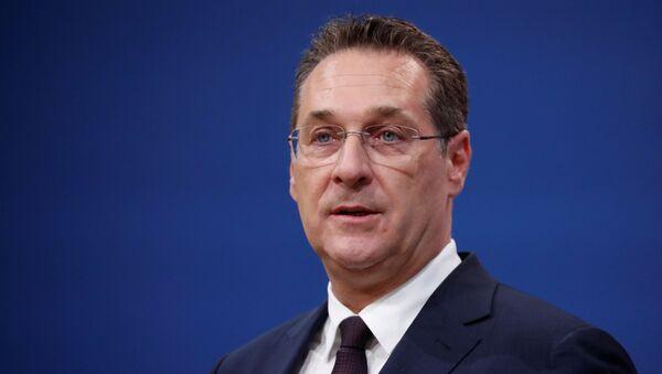 Heinz-Christian Strache, exvicecanciller de Austria - Sputnik Mundo