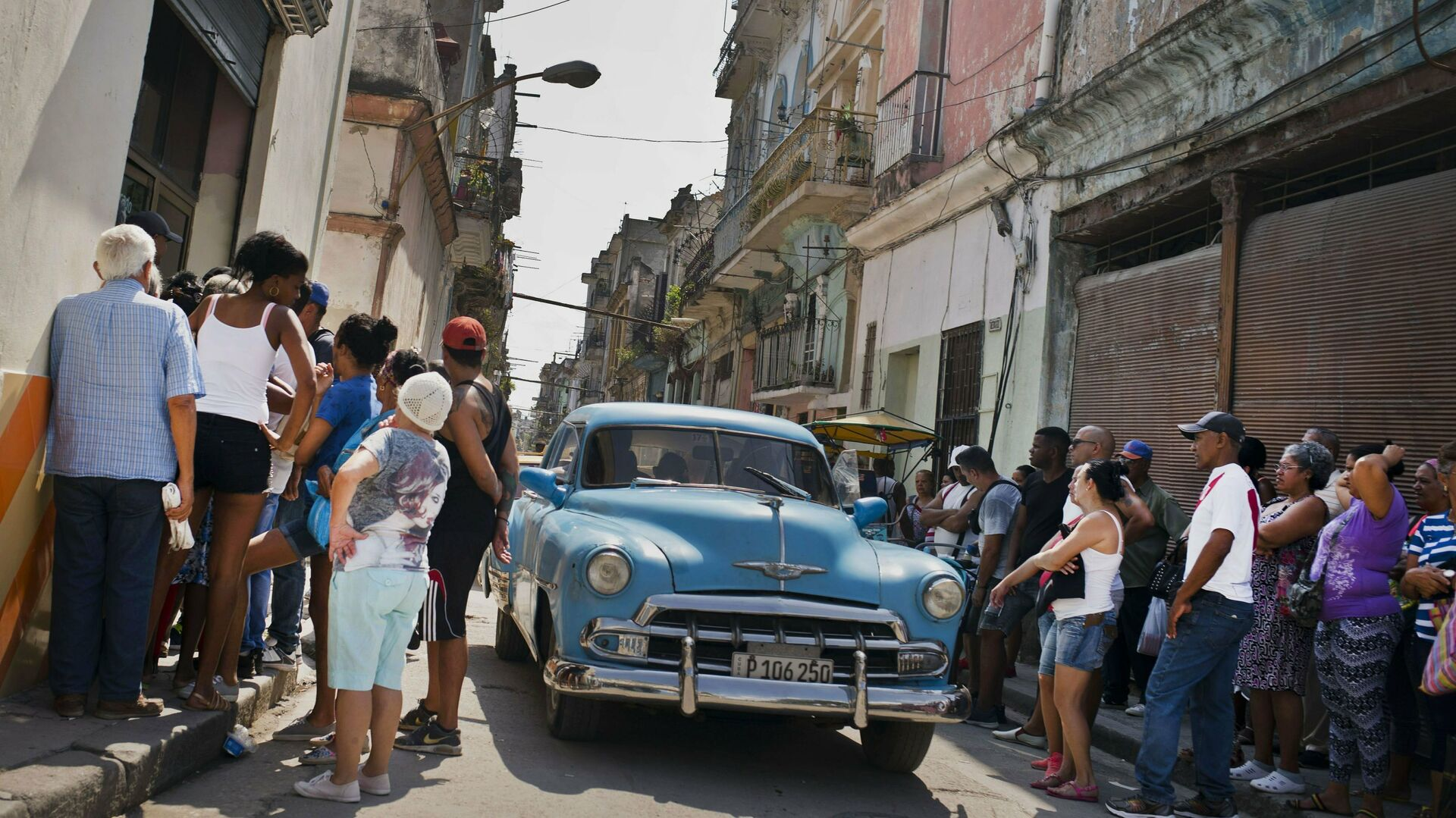 Un automóvil 'almendrón' en Cuba - Sputnik Mundo, 1920, 22.07.2021