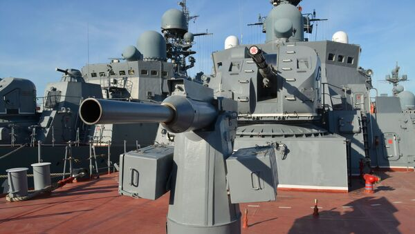 A bordo de la fragata Daguestan - Sputnik Mundo