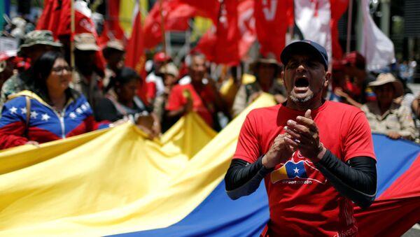 Seguidores de Nicolás Maduro - Sputnik Mundo