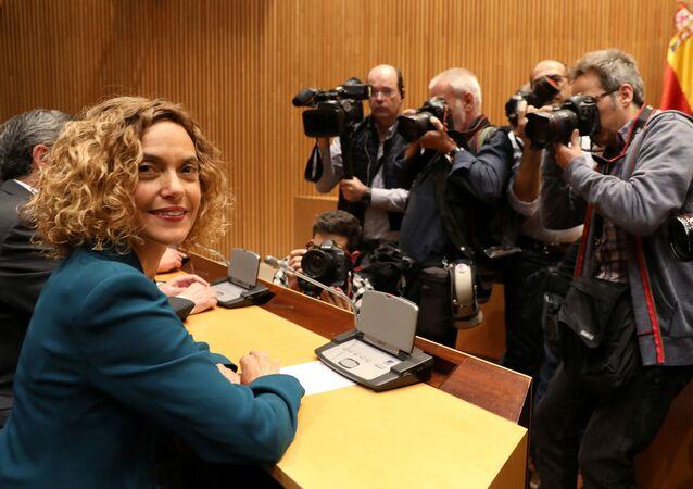 Meritxell Batet, elegida como presidenta de la Cámara Baja del Congreso de los Diputados de España