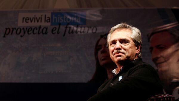 El exjefe de gabinete argentino Alberto Fernández, precandidato a la presidencia - Sputnik Mundo