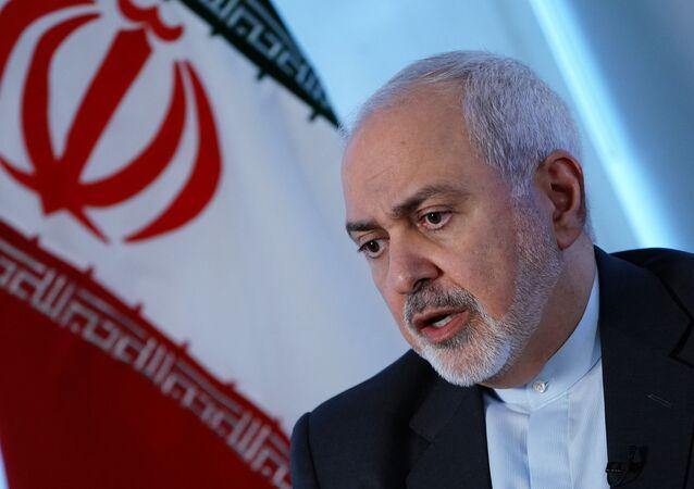 Mohamad Yavad Zarif, canciller de Irán (archivo)