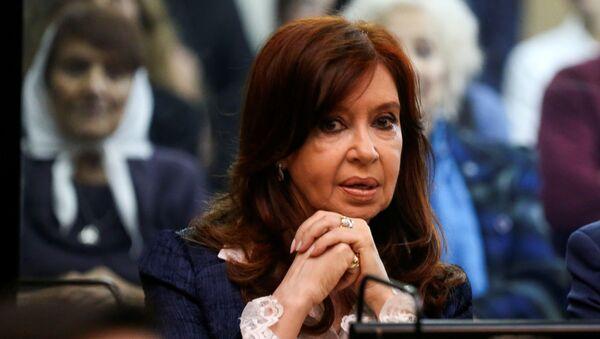 Cristina Fernández de Kirchner, expresidenta de Argentina - Sputnik Mundo