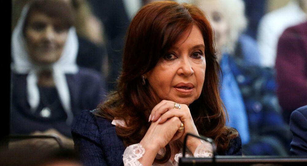 Cristina Fernández de Kirchner, expresidenta de Argentina