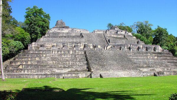 Las ruinas de Caracol, una ciudad maya en Belice (imagen referencial) - Sputnik Mundo