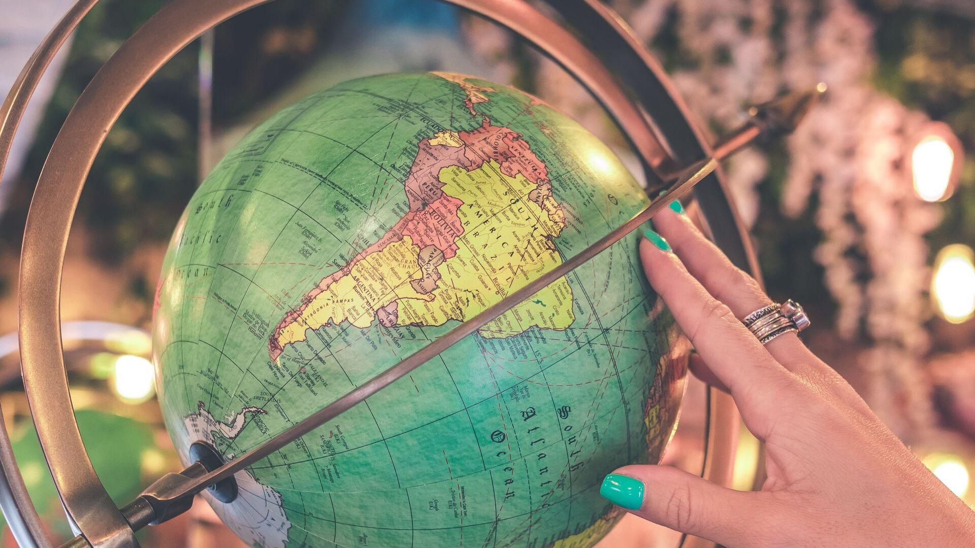 América Latina en un globo - Sputnik Mundo, 1920, 03.05.2021