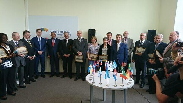 Inauguración del Centro Cultural Iberoamericano en Moscú - Sputnik Mundo