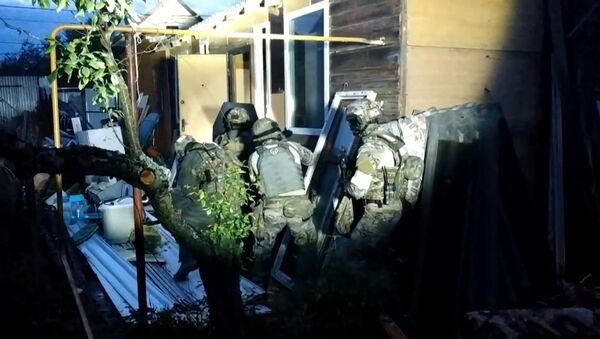 Las fuerzas de seguridad acorralan y eliminan a terroristas en Rusia - Sputnik Mundo