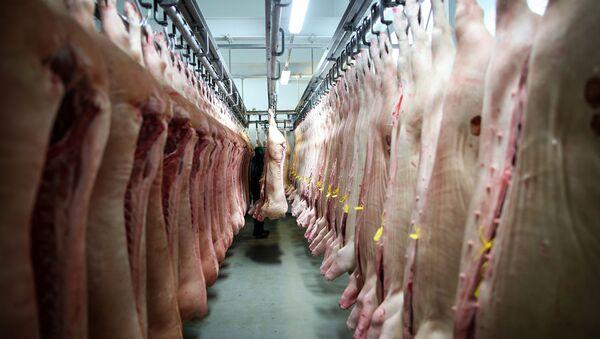 Carne de cerdo - Sputnik Mundo