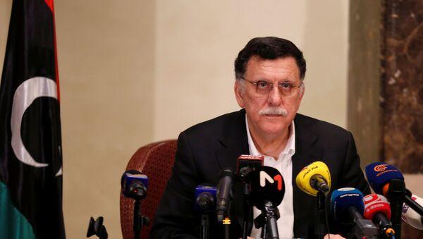 El presidente del Gobierno de Unidad Nacional de Libia, Fayez Sarraj - Sputnik Mundo