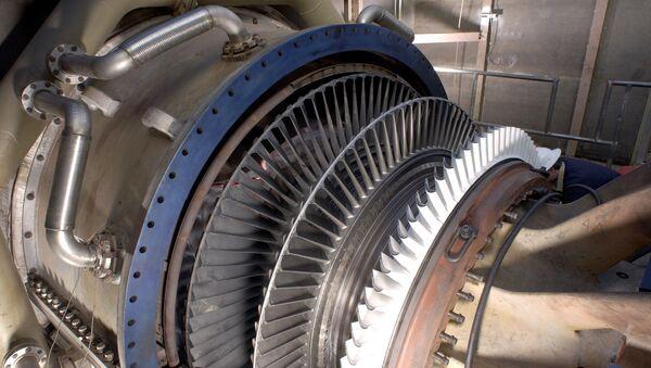 Una turbina de gas - Sputnik Mundo