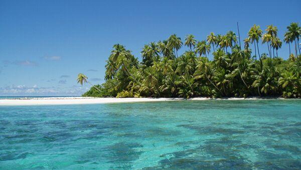 Vista del atolón Salomon, en Chagos - Sputnik Mundo
