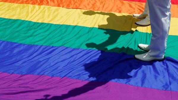 Matrimonio homosexual (imagen referencial) - Sputnik Mundo