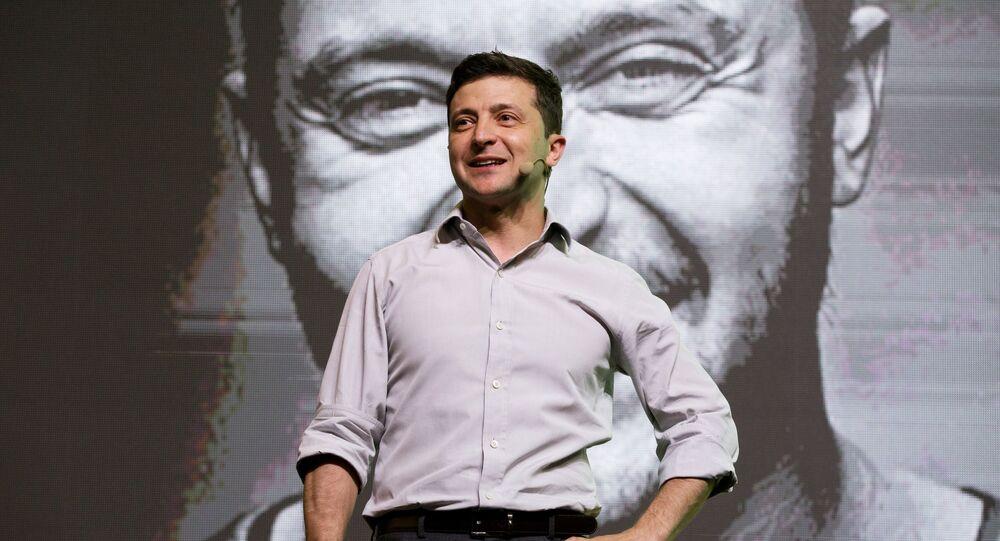 Volodímir Zelenski, el presidente de Ucrania