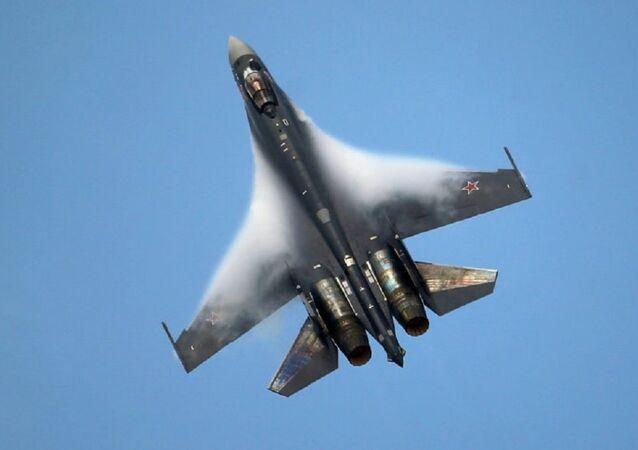 Caza Su-35 (archivo)