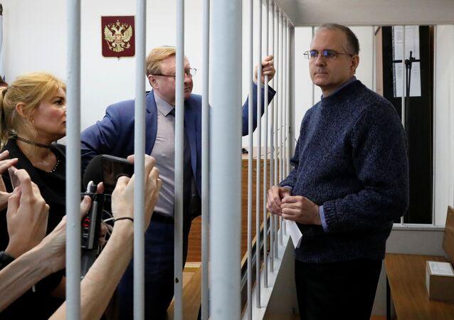 Paul Whelan, ciudadano estadounidense acusado de espionaje