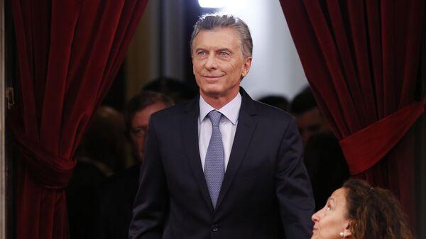 Mauricio Macri, expresidente de Argentina - Sputnik Mundo