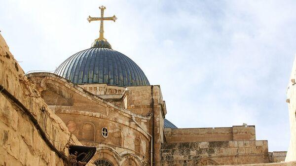 El Santo Sepulcro en la ciudad de Jerusalén - Sputnik Mundo