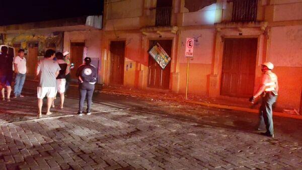 Terremoto en Perú - Sputnik Mundo