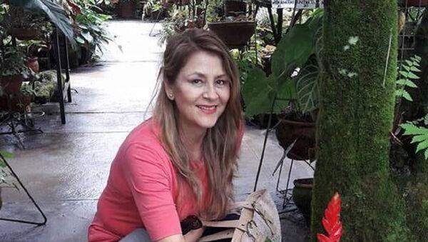 Yolanda Gárate Mori, testigo del terremoto en Perú - Sputnik Mundo