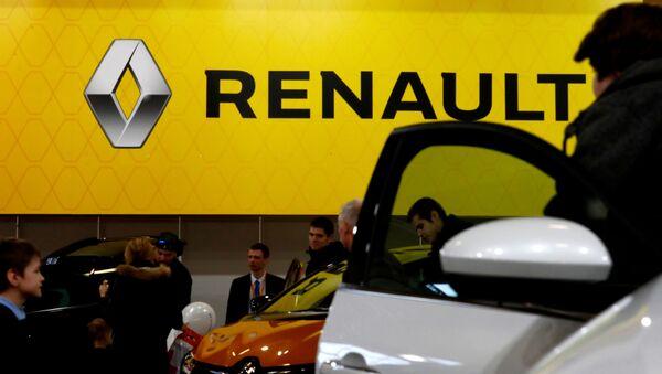 El logo de Renault - Sputnik Mundo