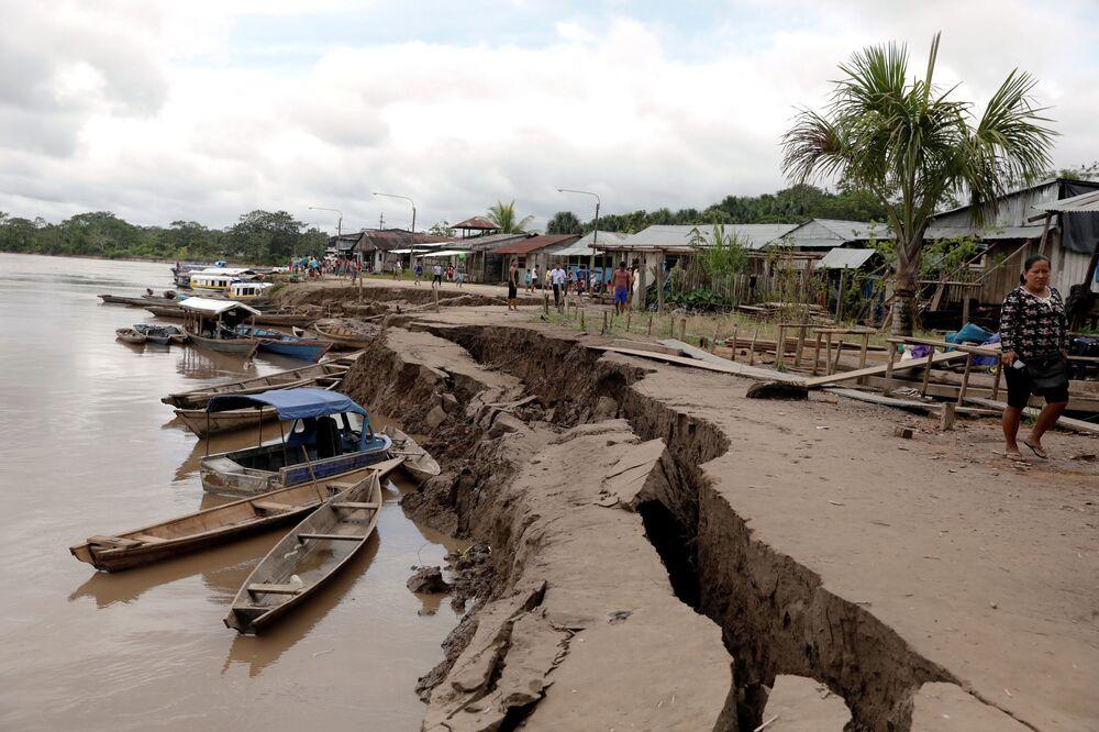 Así ha quedado Perú tras el terremoto de magnitud 8