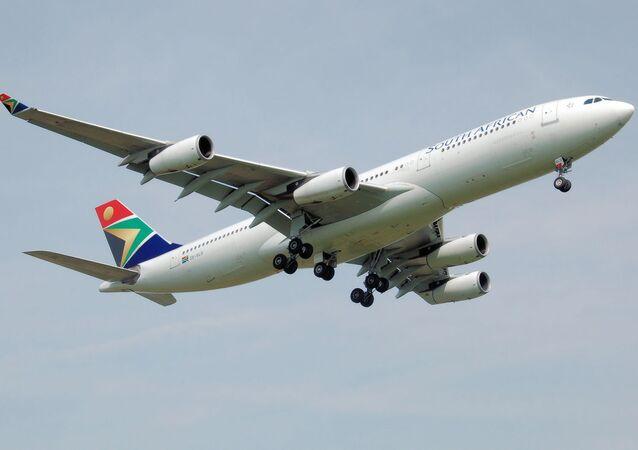 Un Airbus A340 de South African Airways