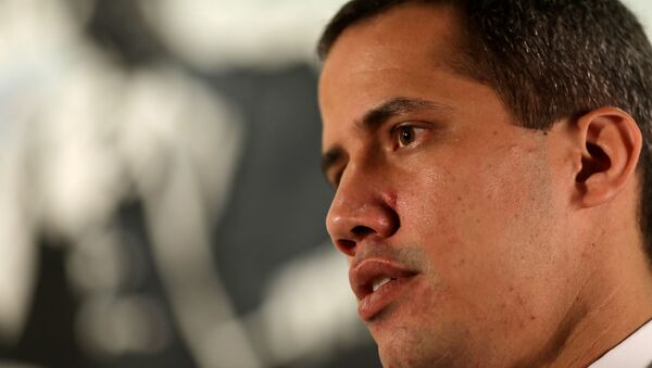 El dirigente opositor venezolano Juan Guaidó - Sputnik Mundo