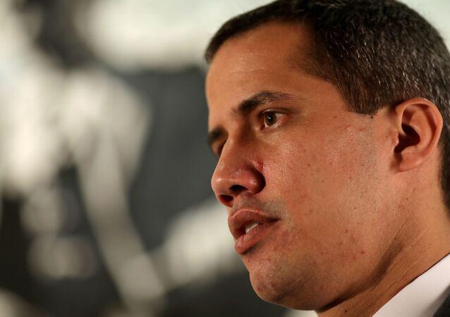 El dirigente opositor venezolano Juan Guaidó