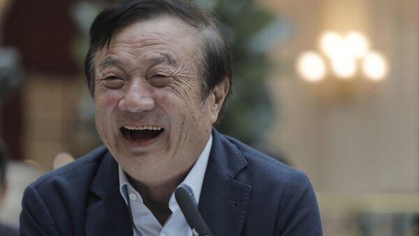 Ren Zhengfei,  fundador de Huawei  - Sputnik Mundo
