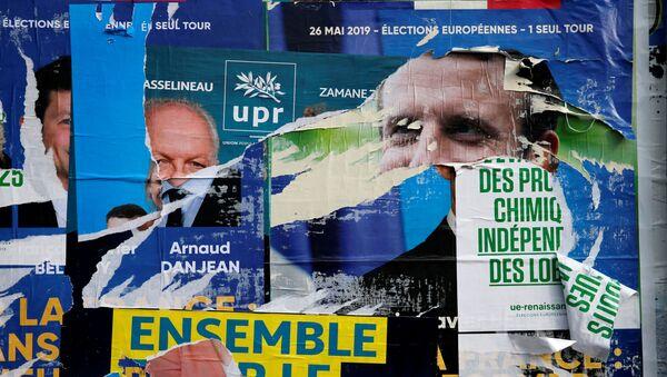 Carteles políticos en vísperas de las elecciones al Parlamento Europeo - Sputnik Mundo