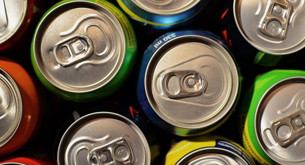 Las latas de aluminio