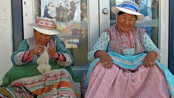 Mujeres peruanas - Sputnik Mundo