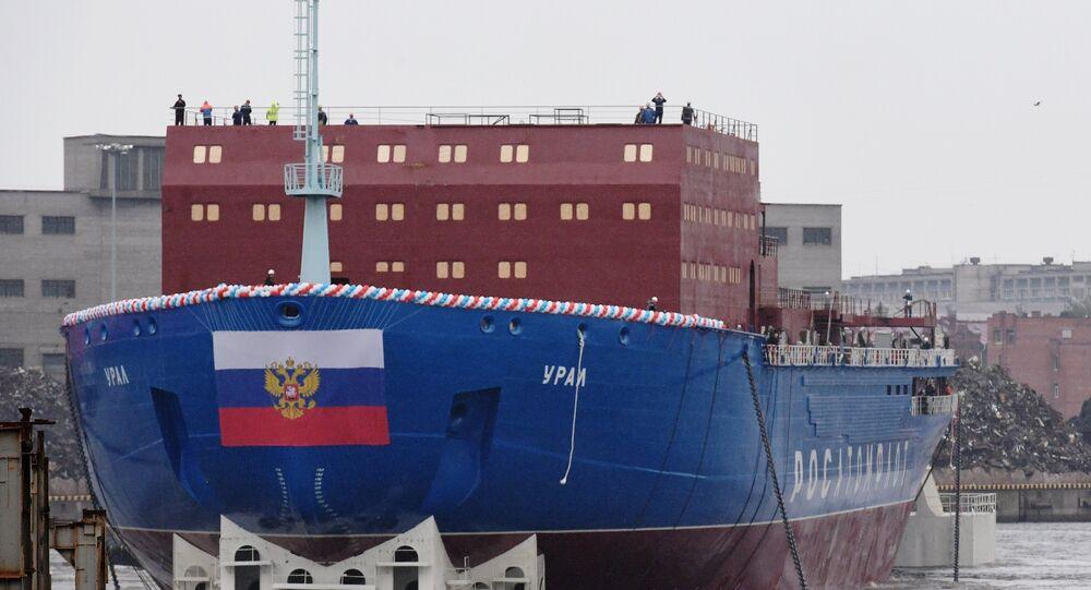 Ural, rompehielos ruso del proyecto 22220
