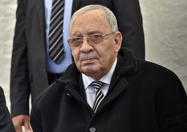 Ahmed Gaid Salah, jefe del Estado Mayor del Ejército de Argelia