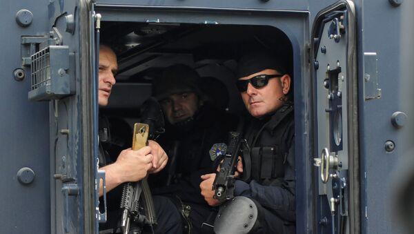 La Policía de Kosovo - Sputnik Mundo